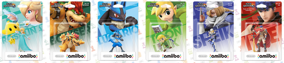 3ème vague d'Amiibo: 6 amiibos