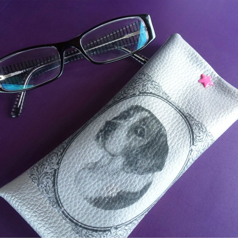 etui lunettes diy 2