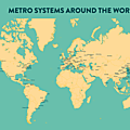 metro around the world