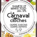 Carnaval des cloches le 27 mars à nogent-le-roi