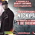 Nicky jam 3 decembre 2015 au quality outdoors en argentine