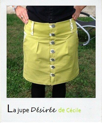 La jupe Désirée de Cécile