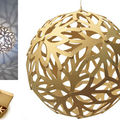 suspension Floral - design David Trubridge pour Moaroom