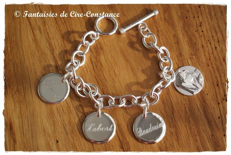 Bracelet argent massif Baudouin Hubert-1