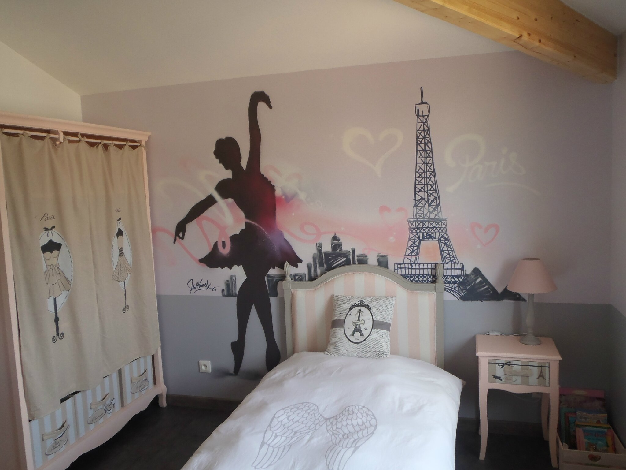 chambre deco danseuse stickers danseuse etoile le des editeurs de jolies choses pour. Black Bedroom Furniture Sets. Home Design Ideas