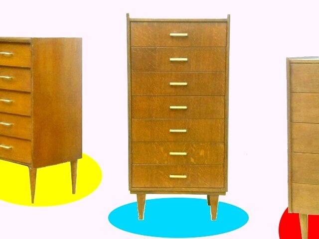 rare semainier vintage des annees 1960 meubles d co vintage design scandinave. Black Bedroom Furniture Sets. Home Design Ideas