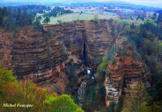 1021) Balade vers l'abîme de Bramabiau (Cévennes)