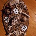Une petite composition en bois et coquillage