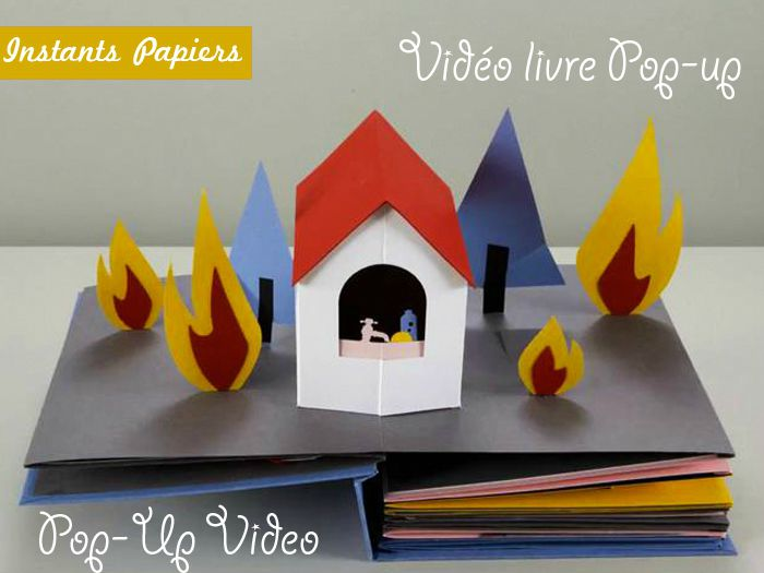Pop up book; livre pop-up