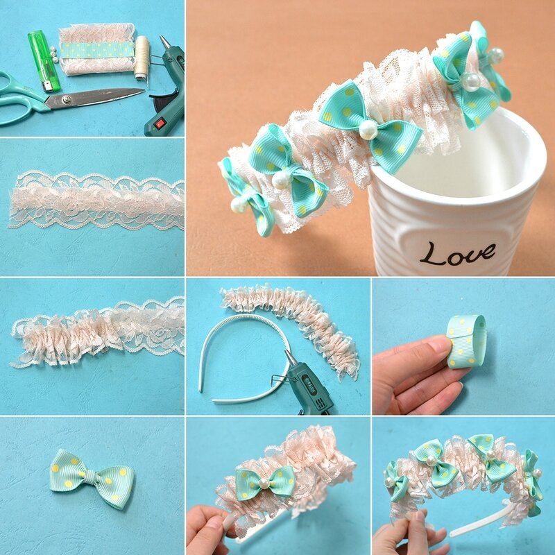 1080-Tutorials-on-Making-Cute-Bowknot-Children-Hair-Band