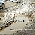 Rdc, ville de lubumbashi : après la pluie, c'est la boue !