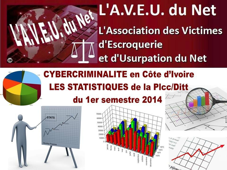 Côte d'Ivoire - Cybercriminalité - Statistiques du 1er semestre 2014