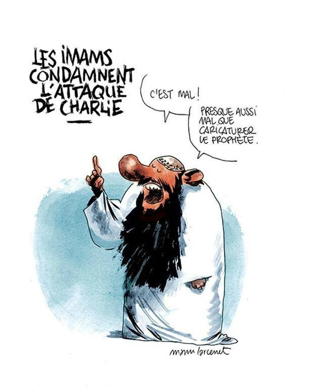 islam imam mosquée humour charlie hebdo