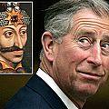 Le prince charles a déclaré etre le descendant de dracula