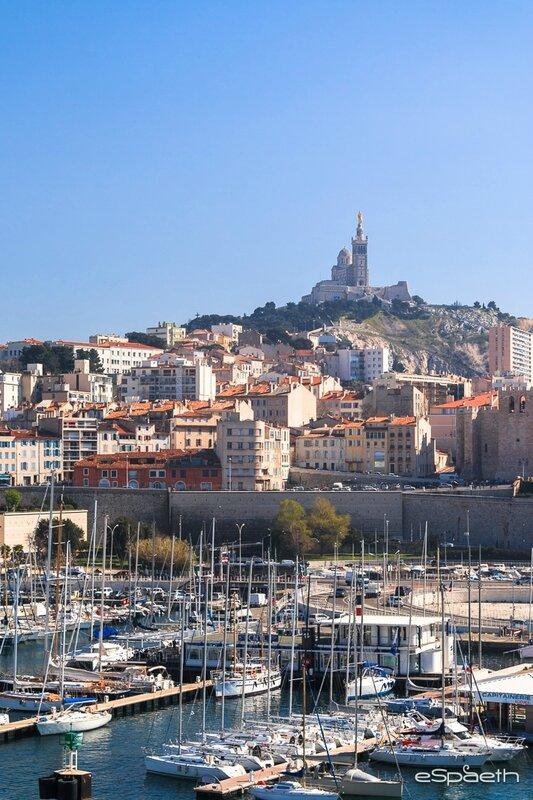 Marseille depuis le Fort Saint Jean