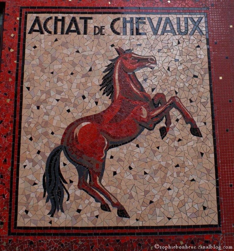 murs cheval
