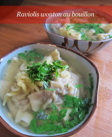 bouillon wonton