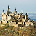Chateau de hohenzollern - allemagne