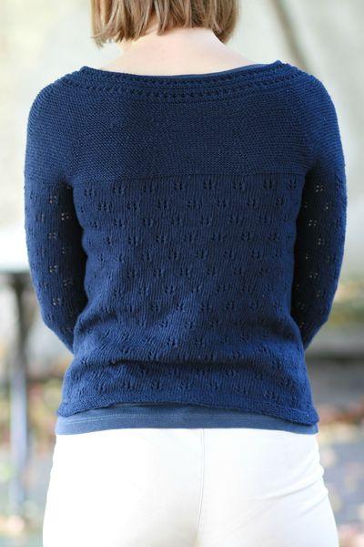 gilet bleu coton Fonty 014