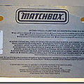Lesney Matchbox MB43 Superfast A 2 verso