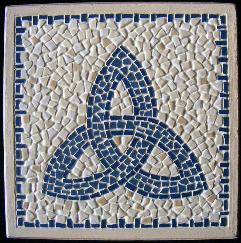dessous de plat triskell bleu photo de divers le l zard en mosa que le blog. Black Bedroom Furniture Sets. Home Design Ideas