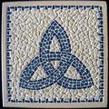 Dessous de plat Triskell Bleu