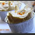 Soufflés glacés à l'orange