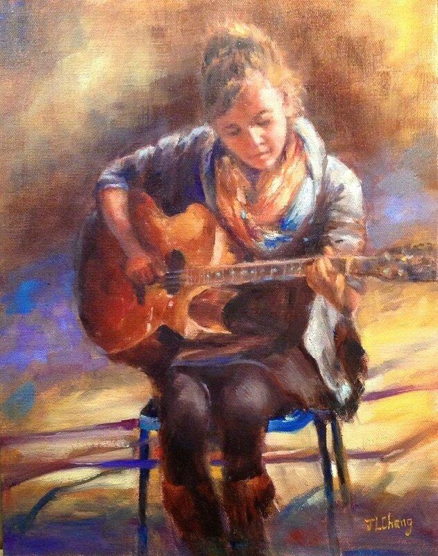 musique janet chang Guitar girl