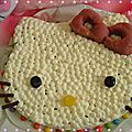 Gâteau à l'orange hello kitty