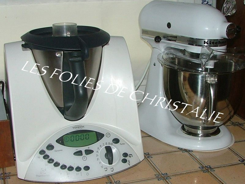 Thermomix et kitchenaid photo de mes appareils for Appareil de cuisine thermomix