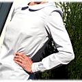 Blouse burda Col Claudine