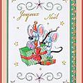 Échange Chez Amélie (Belle carte de Noël ) Marie de Clessé pour Marie de Dominique