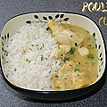 Poulet au curry (cookeo)