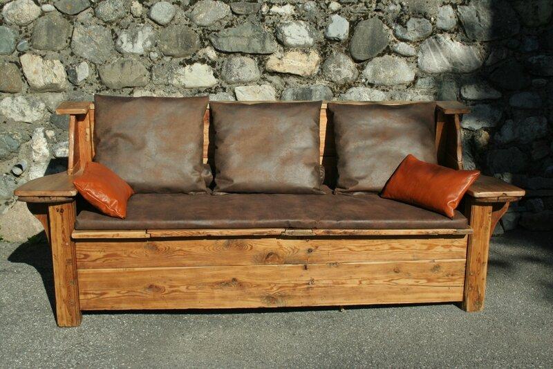 canap avec coffre de rangement couture au fil d 39 eau d 39 ile. Black Bedroom Furniture Sets. Home Design Ideas