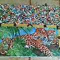 ~ tableau léopards