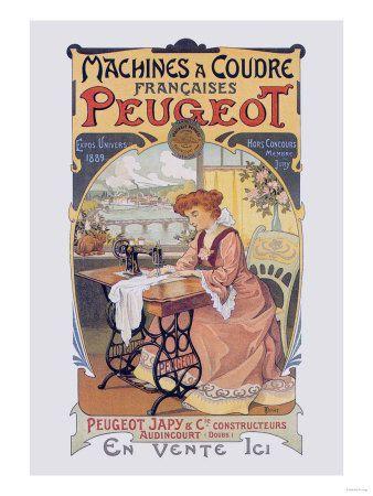 Affiches machines à coudre (4)