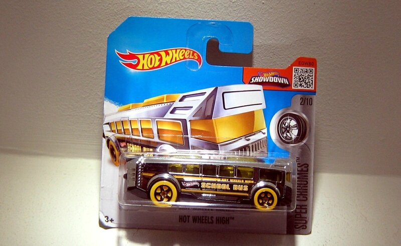 Hot Wheels High (Hotwheels 2016) 01
