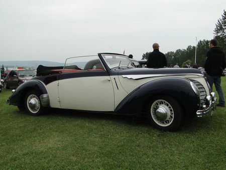 ROSENGART LR539 Supertraction Cabriolet 1939 Retro meus Auto Lac de Madine 2010 5