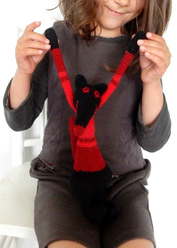 Mini Compère-Loup rouge - Anisbee