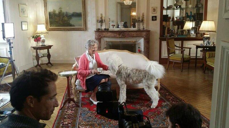 Angers Dressage chien publicité cinéma Francois Segard