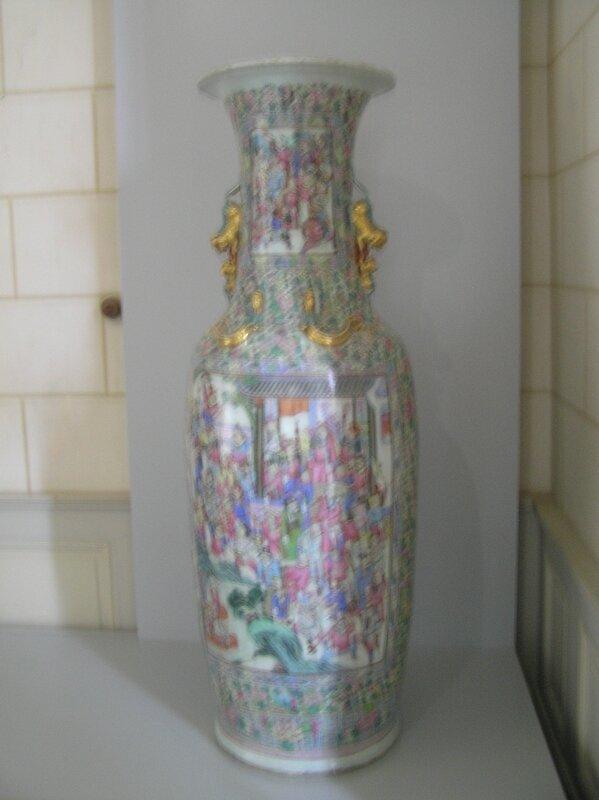 Vase avec détails