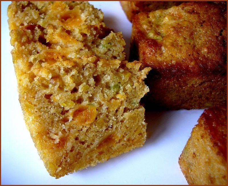 Cake abricot pistache