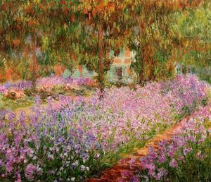 Claude Monet - Iris à Giverny
