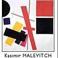 Des carrés, des rectangles et des traits…comme kasimir malevitch