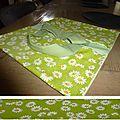 sac à tarte vert (Laurence)