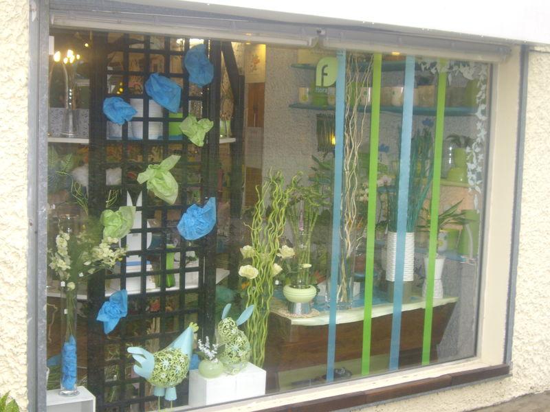 vitrine de printemps l 39 iris bleu de st m dard en jalles adv devient ros 39 votre. Black Bedroom Furniture Sets. Home Design Ideas
