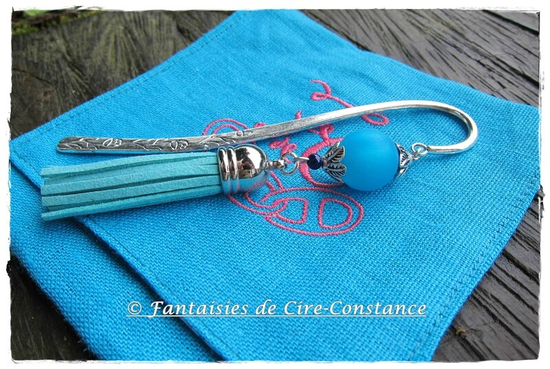 Marque-page turquoise-1