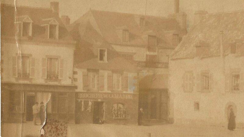 Boucherie de la marine à Concarneau n° 7 quai Penaroff