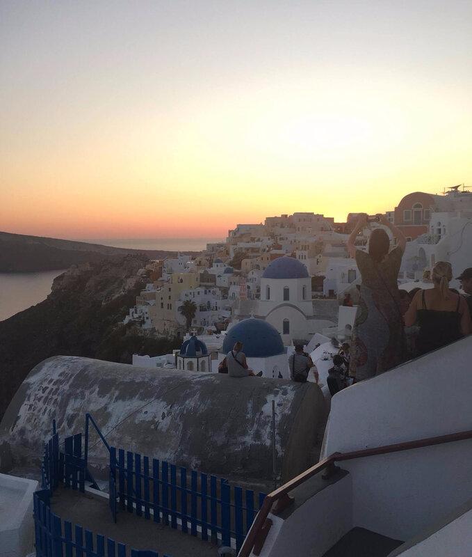 coucher de soleil Oia_etsionjasait