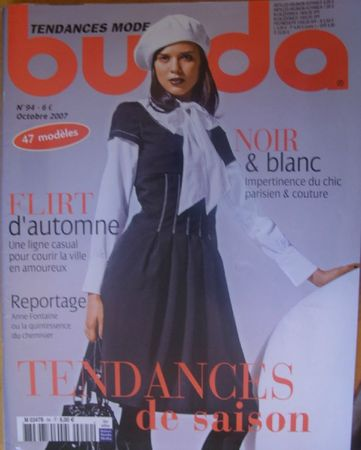 burda octobre 2007 N°94